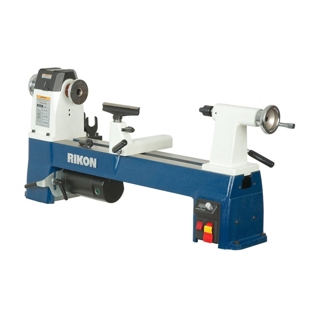 "RIKON Power Tools 70-105 10"" x 18"" ½ HP Mini Lathe"