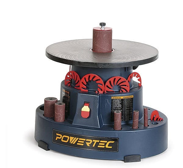 Powertec OS1000 18″ Oscillating Spindle Sander