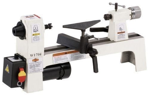 Shop Fox W1704 1-3-Horsepower Benchtop Lathe