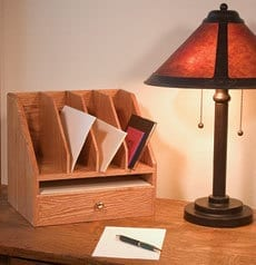 Simple Desk Organizer