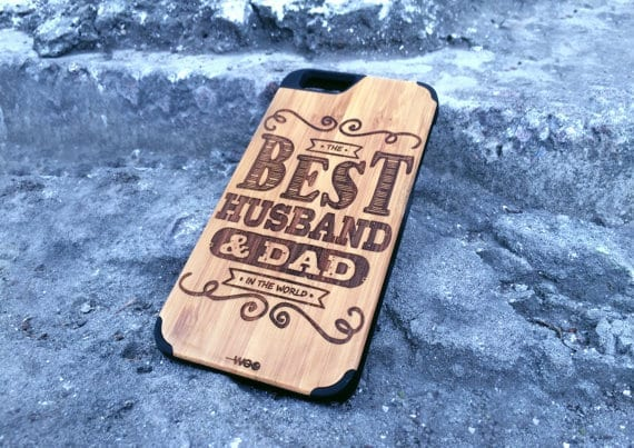 Wooden phone back cover