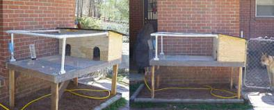Combining Pvc And Wood To Make A Rabbit Hutch