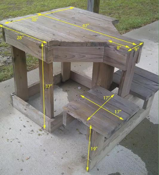 Diy Pallet Shooting Bench By Texas Bow Hunter