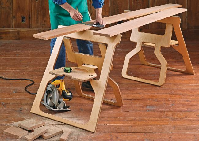 How To Use A Sawhorse Safely