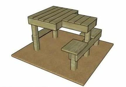 Free Shooting Bench Plan By My Outdoor Plans