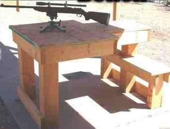 Shooting Bench By Gone Outdoors