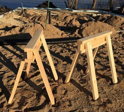 Simple And Strong Sawhorse Plan