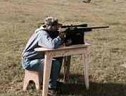 Olding Wooden Shooting Bench By Towerstool