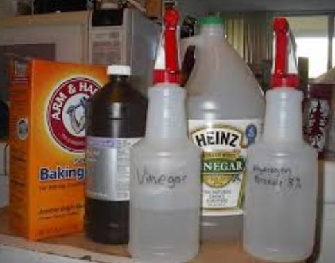 Apply The Cleaning Solution That You Picked Out 1