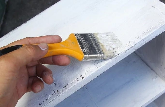 Brush On A Top Coat Of Paint 1