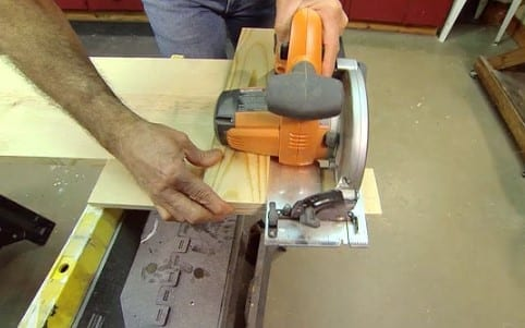Cut With A Handsaw