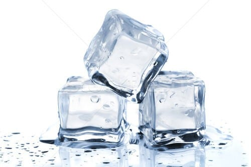 Harden The Wax Using Ice Cubes 1