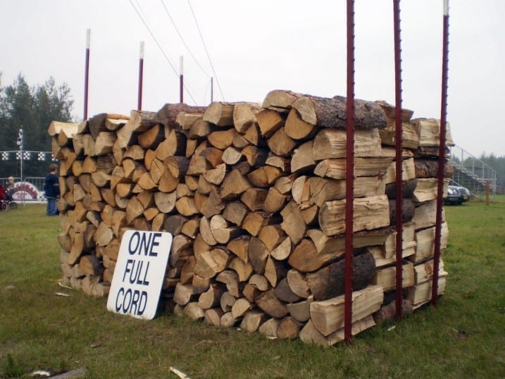 How Many Cubic Feet In A Cord Of Wood