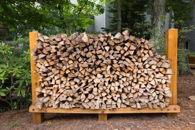 How Many Square Feet In A Cord Of Wood