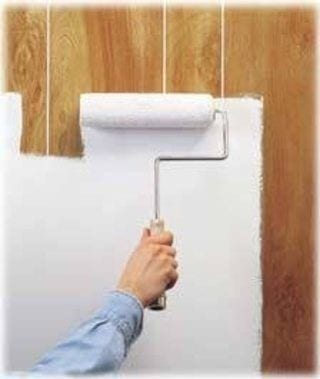 How-To-Hide-Paneling-Seams Painting Over Paneling Mobile Home Ideas on painting over wainscoting, painting over wallboard mobile home, ceiling repair mobile home, painting over aluminum mobile home, home mobile home, paint mobile home,
