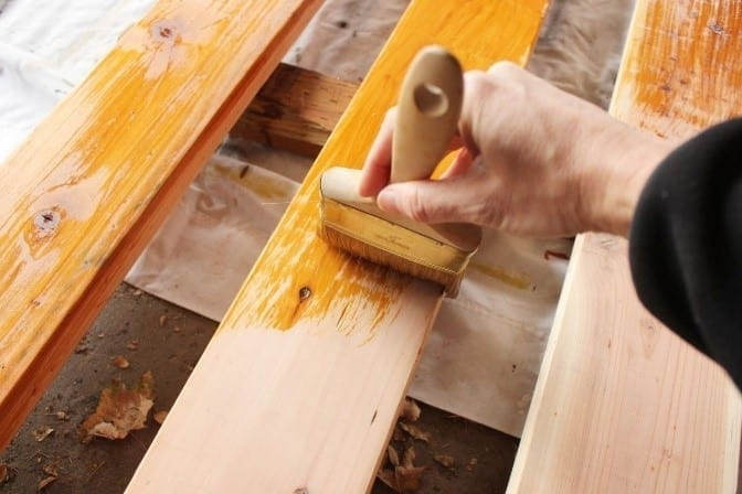 How To Stain And Seal Wood