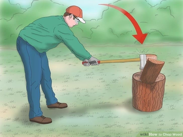 How To Chop Wood