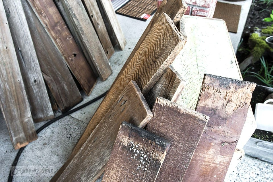 How To Clean Old Barn Wood