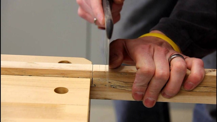 How To Cut Notches In Wood The