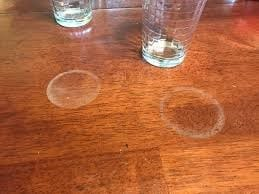 How To Get Water Stains And Rings From Wood 1