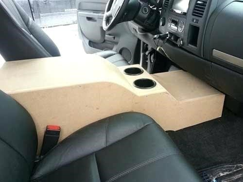 How to Make A Center Console Out of Wood – Cut The Wood
