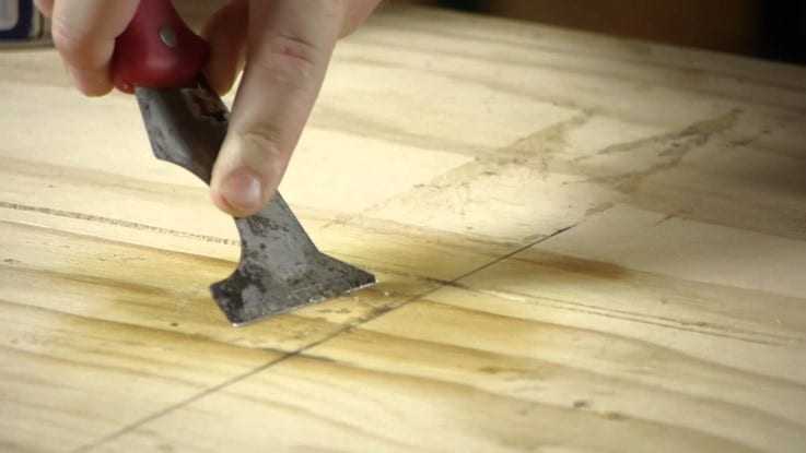 How To Remove Adhesive From Wood 1
