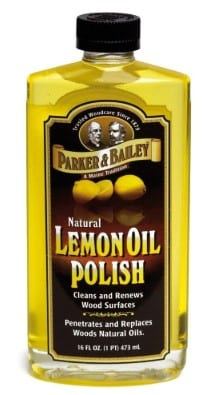 Lemon Oil For Removing Water Stains 1