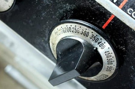 Set Oven Temperature 1