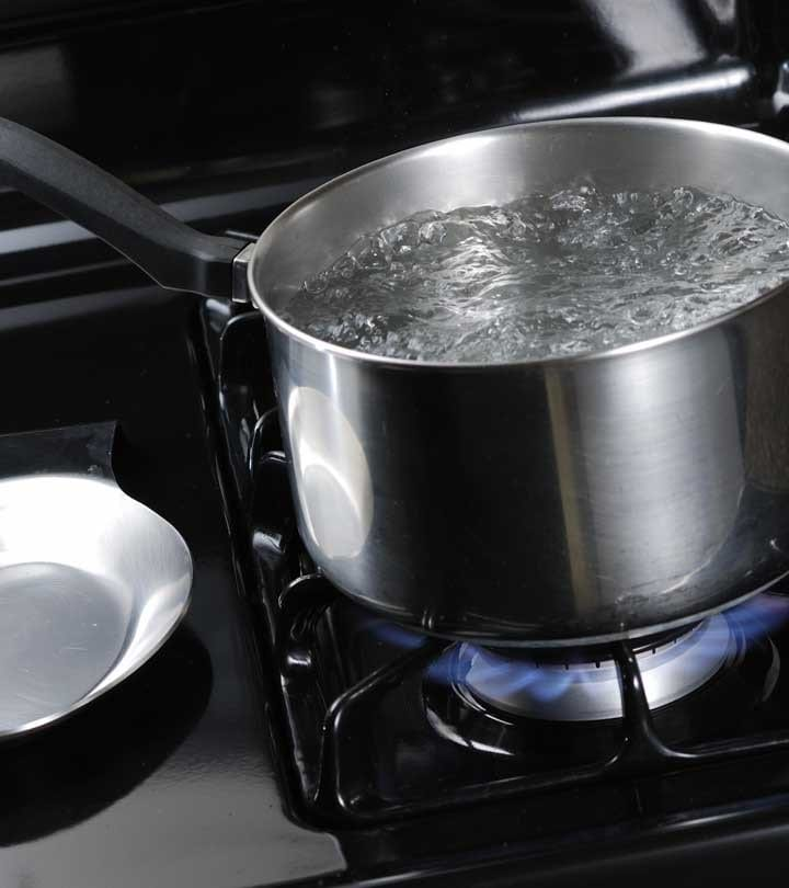 Soak The Spot With Hot Water 1