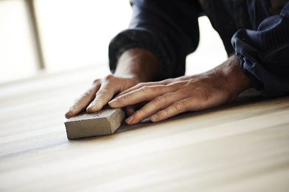 Step 1 Clean And Smooth The Surface Of The Wood With The Help Of Naphtha And Sandpaper
