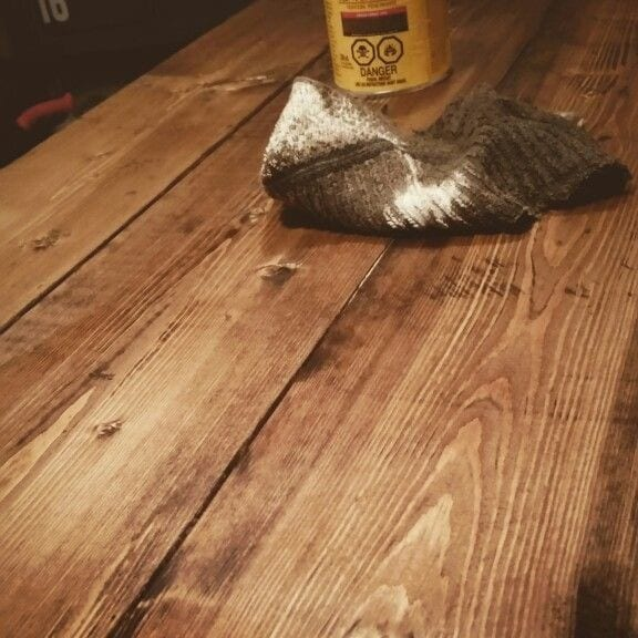 How To Stain Pine Wood Cut The Wood
