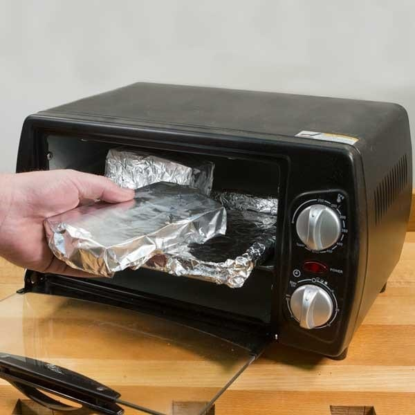 Step 2 Cure The Wood Properly Using Aluminum Foil