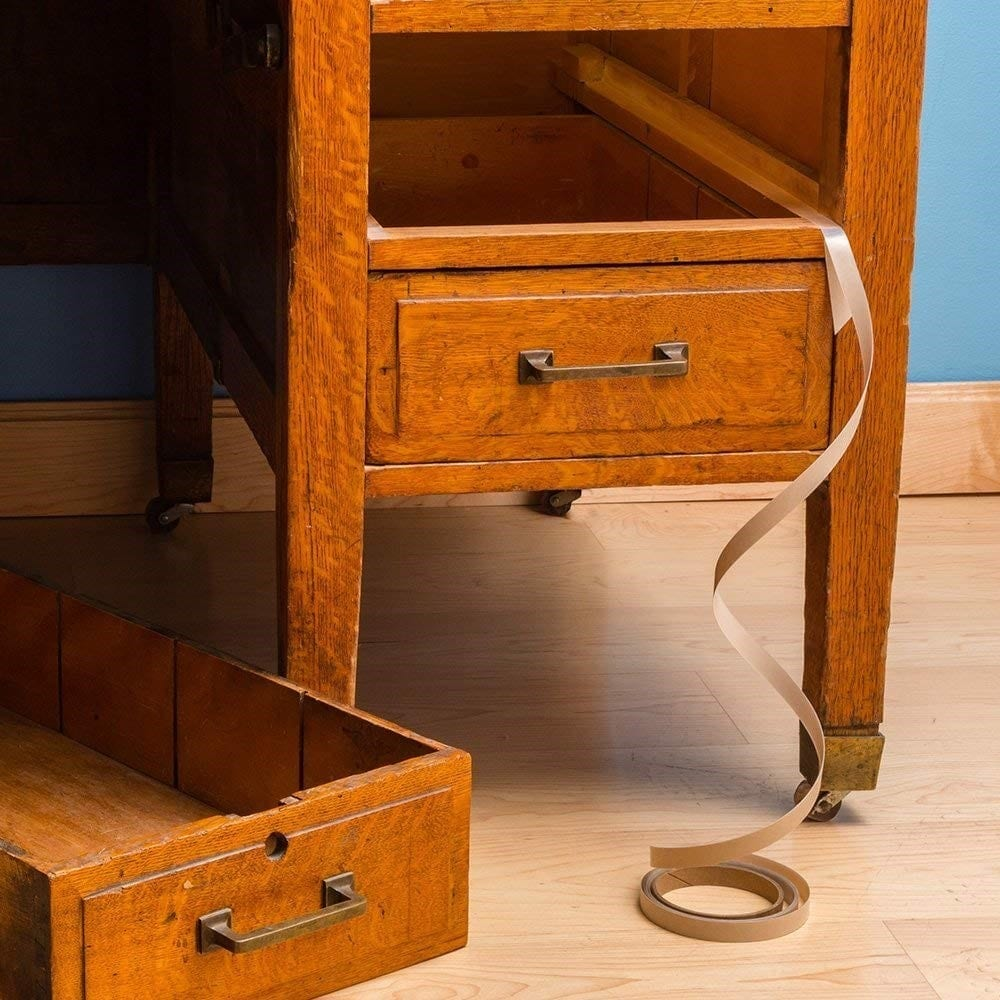 Step 2 Fix Wood Drawers Permanently With Nylon Drawer Slide Tape