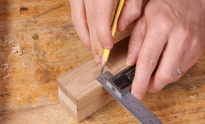 Step 2 Use A Carpenter's Level To Mark Accurately