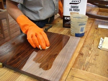 Step 4 Apply The Matching Stain And Seal It With A Topcoat