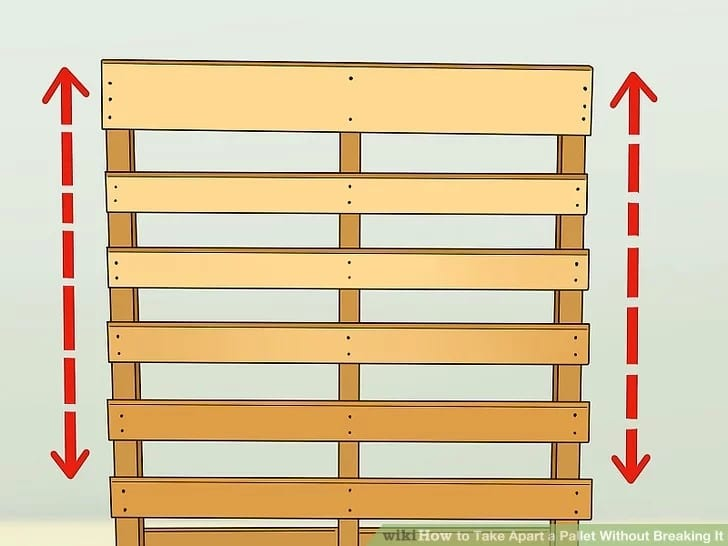 Taking Apart A Wood Pallet Step 3 1