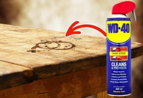 Use Wd 40