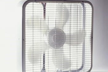 Use A Box Style Fan To The Window Sill