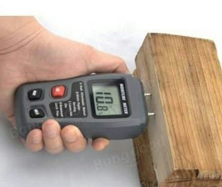 Use A Moisture Meter To Find Out The Moisture Content Of Your Wood