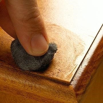 Using A Steel Wool