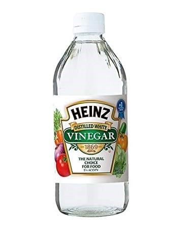 Using Vinegar For Scratch Removal