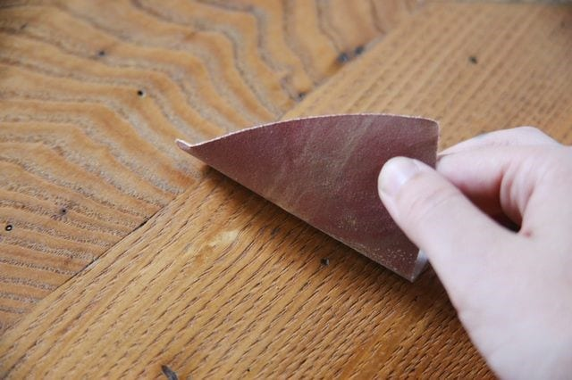 Sanding It Off With Sandpaper Rated 80 Grit Or Higher 1