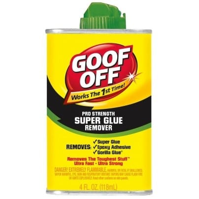Use A Commercial Super Glue Remover 1