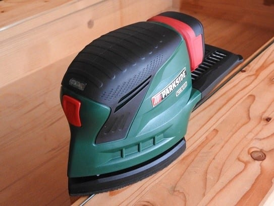 Use A Power Sander To Sand The Area Deeply And Efficiently 1