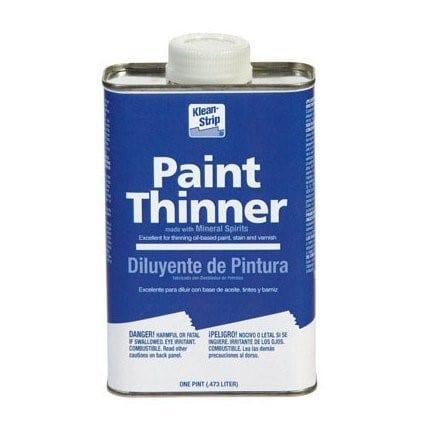 Use Paint Thinner 1