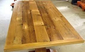 Assemble The Planks Until The Top Is Complete