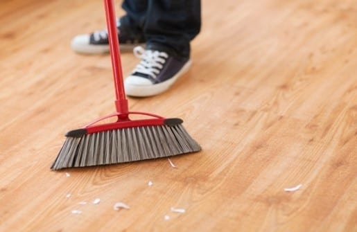 How To Remove Linoleum Glue From Wood Cut The Wood