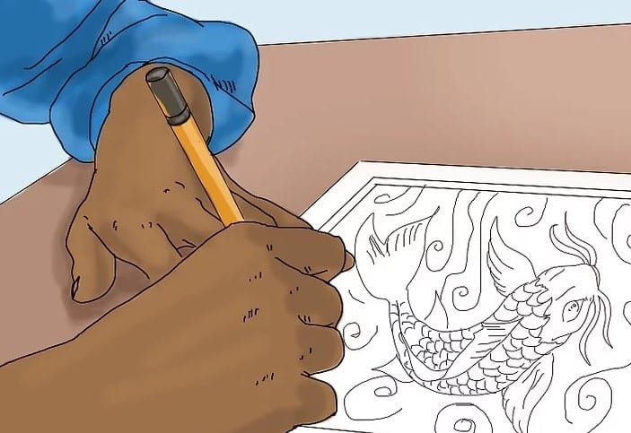 Create A Design You Like For The Wood Carving