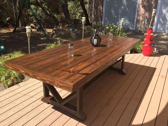 Diy Dining Wooden Table