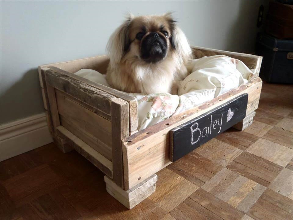 Diy Pallet Dog Bed – Cute And Practical
